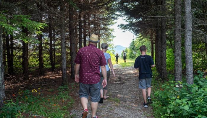 Les sentiers pédestres Les Verts Boisés@Yvon Lacombe